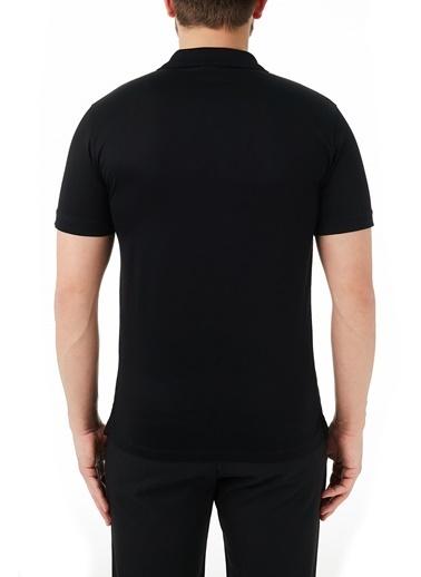 Emporio Armani  % 100 Pamuk Düğmeli Polo T Shirt Erkek Polo 3K1Fc5 1Jtuz 0999 Siyah